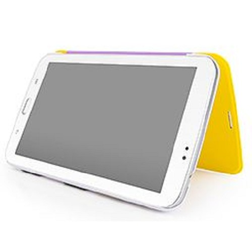 "CAPDASE Karapace Jacket Sider Elli for Samsung Galaxy Tab 3 7"" [KPSGT210-4EE2] - Yellow/White - Casing Tablet / Case"